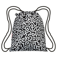 LOQI museum collection backpack in keith haring