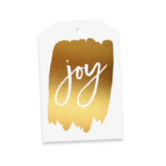 Joy gift tags (pack of 4)