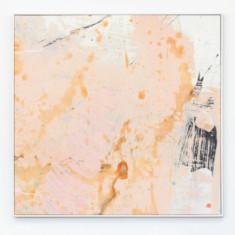 First blush framed canvas