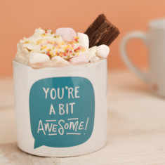 You're A Bit Awesome Children's Mug