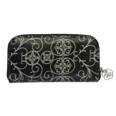 Zip wallet in Gabriels Gate print