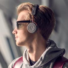 VAIN STHLM Commute Wireless Bluetooth Headphones in rail grey