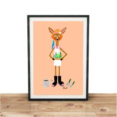 Going to the Garden Giclee print