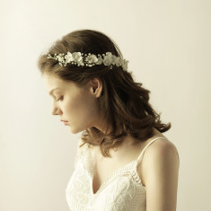 Floral Halo Headpiece