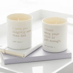 Personalised Glow Through Cheeky Candle