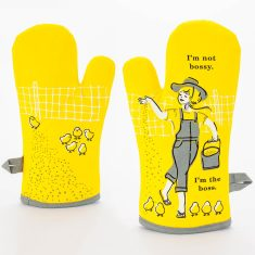 I'm not bossy. I'm the boss. Oven Mitt by Blue Q