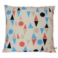 Circus triangle cushion