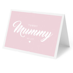 Yummy Mummy Personalised Card
