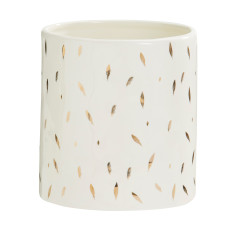 Feathers Short Vase
