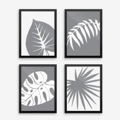 Graphic Plant Art Print (Four Designs)