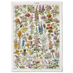 French Flowers Tea Towel