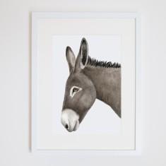Doug the donkey print
