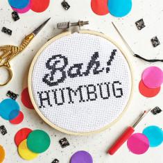 Bah! Humbug Cross Stitch Kit