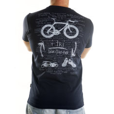I tri men's t-shirt in navy