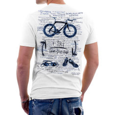I-tri men's t-shirt in white