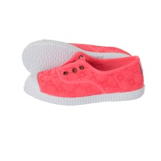 Girls' slip on canvas shoe (various colours)