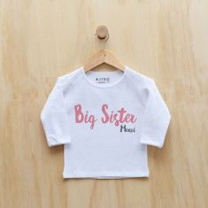 Big sister/Big Brother longsleeve t-shirt