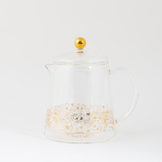 Birdy Glass Teapot