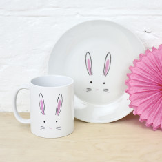 Bunny Rabbit Dining Set
