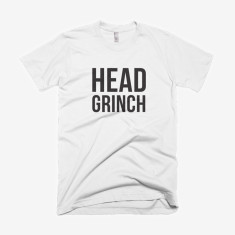 Head Grinch Christmas T-Shirt
