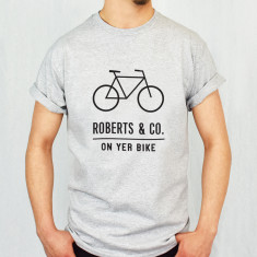 On Yer Bike Personalised Adventure Men's T Shirt