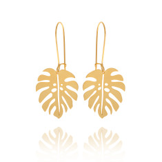 Jungle Earrings Gold
