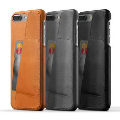 Mujjo Leather Wallet Case For iPhone 7 PLUS