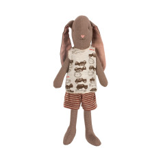 Mini Boy Bunny In Brown