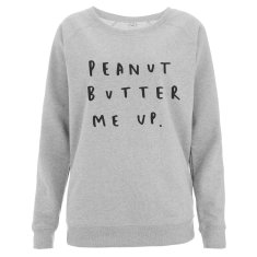 Peanut Butter Me Up Women's Scoop Neck Sweater