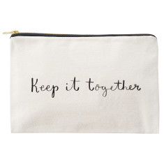 Keep It Together Canvas Pouch
