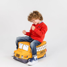 Woouf Bean Bag Cover - School Bus