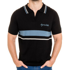 Men's retro wool polo