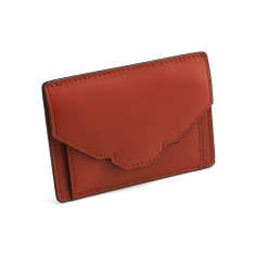 Emm coin and cash holder (red rust)