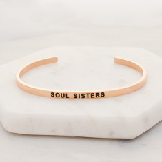 Soul Sisters bangle in rose gold