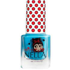 Peel off kids' nail polish in Mermaid blue (non toxic)