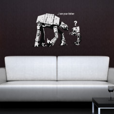Banksy I Am Your Father wall sticker