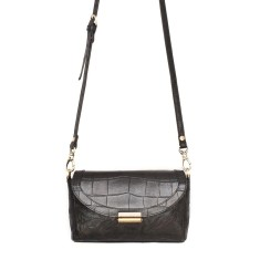 I see you baby leather handbag in black