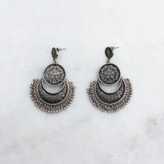 Blake earrings in silver