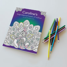 Personalised Inspirational Wildlife Colouring Book
