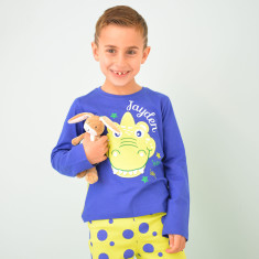 Personalised Dinosaur Pyjama Set