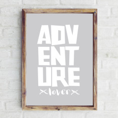 Adventure lover print