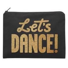 Let's Dance Glitter Pouch