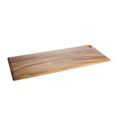 Long everyday cutting and serving board
