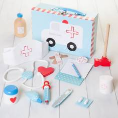 Personalised Kids' Toy Doctor Set