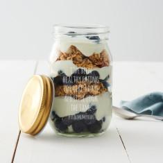 Personalised Breakfast Jar For Mum
