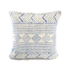 Kilim Collection: Blue Tribal Cushion