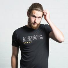 Star Wars fan review t-shirt
