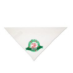 Personalised Santa's helper pet bandana