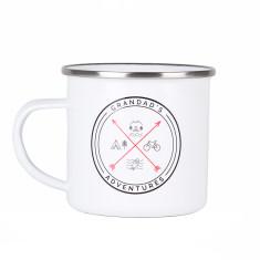 Grandad's Adventures Enamel Mug