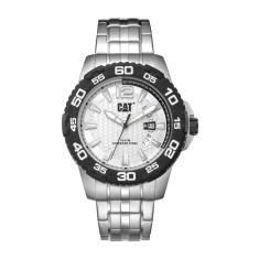 CAT DRIVE series Watch in Stainless Steel with Black & White Face